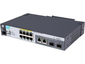 HP J9562A#ABA ProCurve 2915-8G-PoE Ethernet Switch - 10 Port - 2 Slot