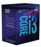 Intel i3-8100 Coffee Lake Quad-Core 3.6 GHz LGA 1151
