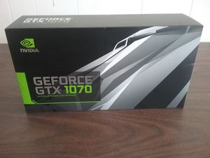 NVIDIA GEFORCE GTX 1070 Founders Edition 8GB DDR5 - Sealed New in box