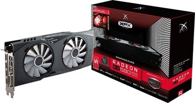XFX AMD Radeon RX 580 8GB GDDR5 PCI Express 3.0 Graphics Card