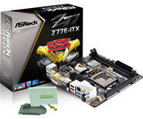 ASRock Z77E-ITX LGA 1155 Intel Z77 SATA 6Gb/s USB 3.0 mini ITX Intel Motherboard