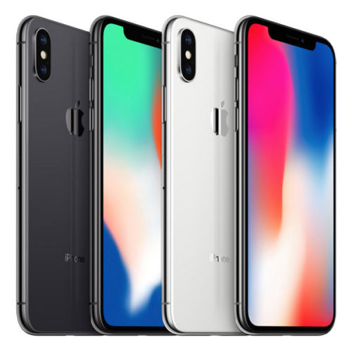 Apple iPhone X Silver/Space Gray 256GB Smartphone Unlocked iOS BRAND NEW